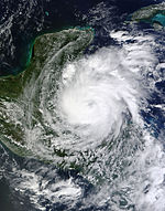 Hurricane Richard 2010-10-24 1645Z