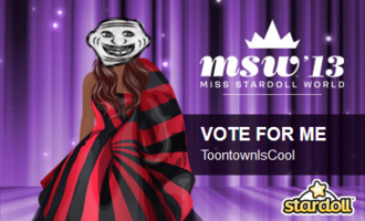 User blograraahahahromaromamagagaoohlalavote me miss stardoll im toontowniscool so search for me on stardoll and vote me msw gumiabroncs Gallery
