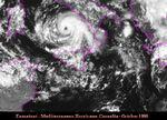 Mediterranean hurricane 1996