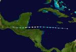 Hurricane Cristobal (2010-CobraStrike) Track.png