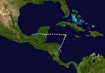 Hurricane Josephine (2020-CobraStrike) Track.png