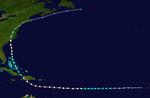 Hurricane Erin Track (2019 - Farm)
