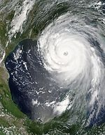 Hurricane Katrina August 28 2005 NASA