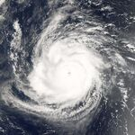 Hurricane Ioke, MODIS image on August 24, 2006, 2155 UTC