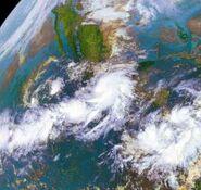 Hurricane Rick At Mexican Landfall
