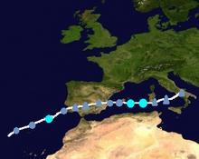 Subtropical storm irma