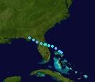 Tropical Storm Humberto (2025 - Track)