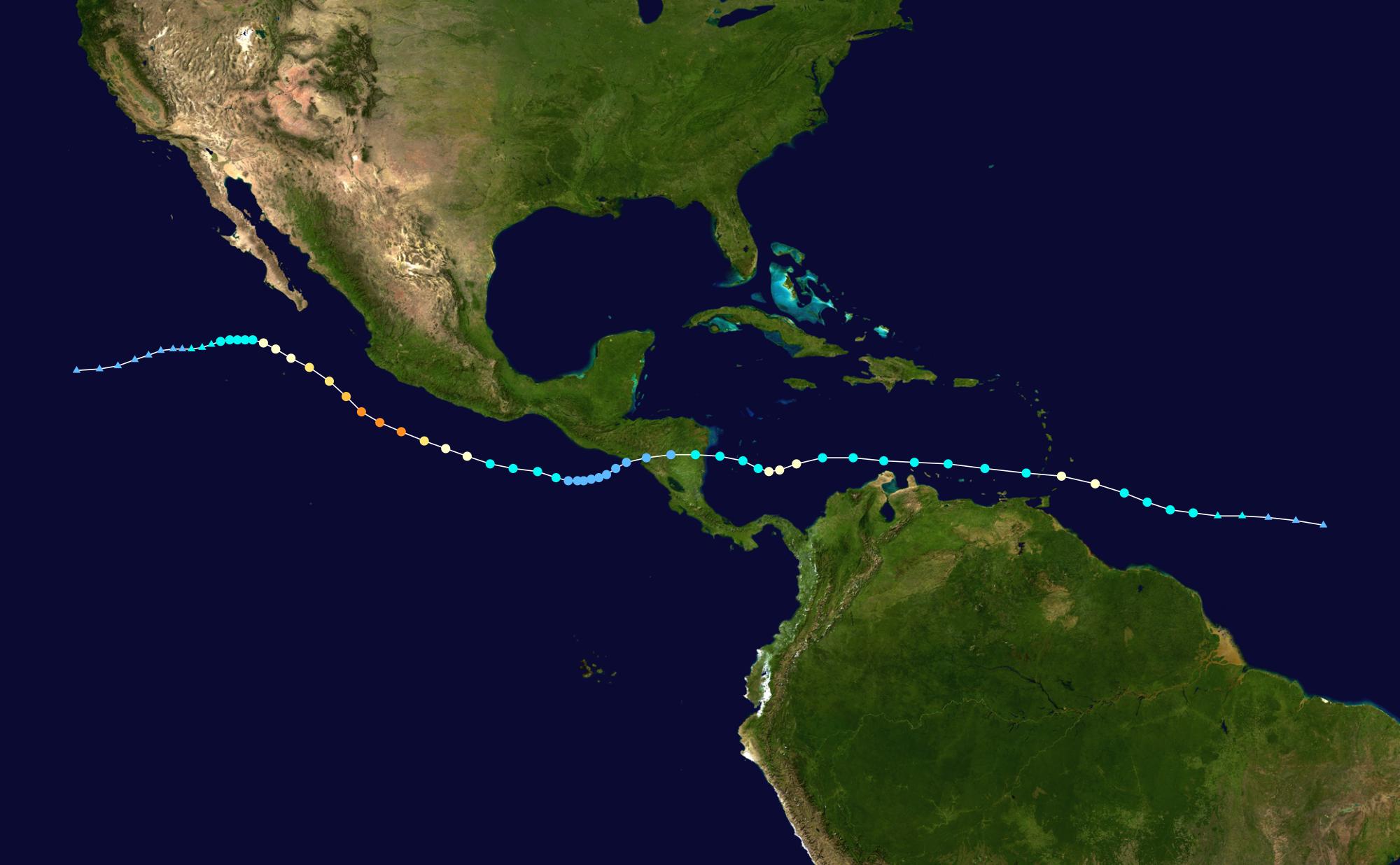 Hurricane Dylan Eda 2020 Atlantic hurricane season Sutowe12u0027s