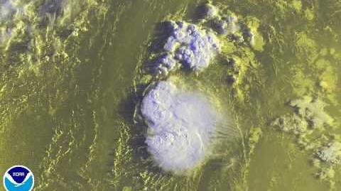 2015 Atlantic Hurricane Season - Individual storms satellite animation