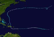 Hurricane Beryl (2012 - Track)