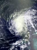 Hurricane Emily Satellite (2017 - Money Hurricane)