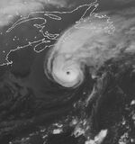 Hurricane Debby 1982 peak intensity - New