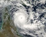 {{#ifd:Cyclone Ingrid 2005.jpgClockwise vortex}}