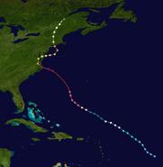 Hurricane Alberto (2012 - Track)