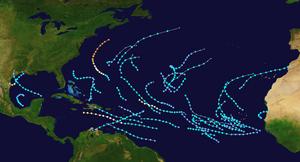 2017 Atlantic Usercane Map