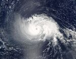 Hurricane Isabel 10 sept 2003 1640Z