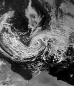 Mediterranean tropical storm 26 January 1982 1236Z