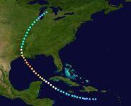 Hurricane Bertha (2027 - Track - For Douglas)