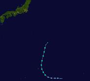 Tropical Storm Ana (3078 - Track)