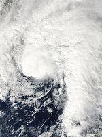 Tropical Storm Ida 2009 on November 9 near Gulf Coast