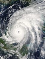 Hurricane Wilma 21 oct 2005 1625Z