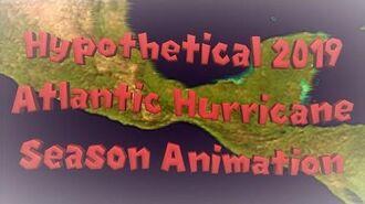 Hypothetical 2019 Atlantic Hurricane Season Animation