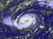 Hurricane Vince October 2005