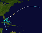 Hurricane Melissa Track (2019 - Hype)