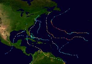 1999 Atlantic Hurricane Season-Version One Map Summary.png