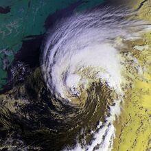 Hurricane Gabrielle 17 sept 2001 1213Z