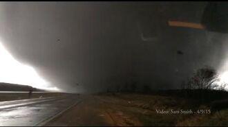 Illinois Tornado April 9, 2015 Crazy footage - Video by Sam Smith