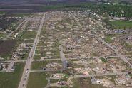 Parkersburg damage