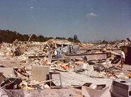 Niles Park Plaza 1985 tornado