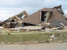 Mena tornado damage