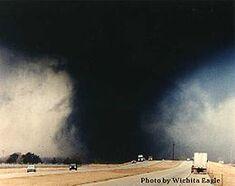 March 1990 Hesston Kansas tornado