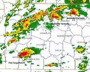 Nashville - Southwestern Tennessee supercells