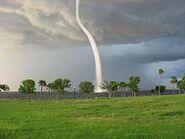 Punta Gorda waterspout