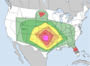 March 23, 2018 Tornado Outbreak Outlook (Hitman)