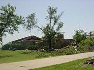 May 9,2003 OKC tornado damage