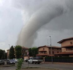 Tornado Emilia Romagna Italy