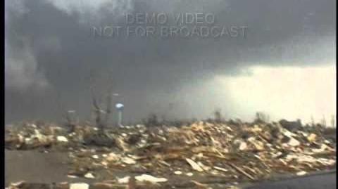 5 25 2008 Parkersburg, Iowa Tornado Footage