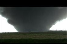 TIV intercepts an EF3 wedge tornado