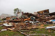 EF3 damage in Abingdon, MD