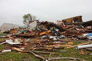 EF3 damage in Abingdon, MD