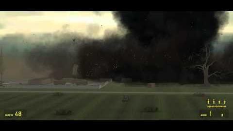 Tornado Hits Trailer Park (GMOD)
