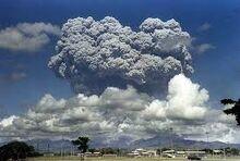 Mount Pinatubo - Blast Cloud