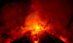 Volcamic eruption 24