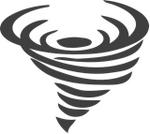 Temporary tornado