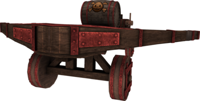 Powder keg launcher