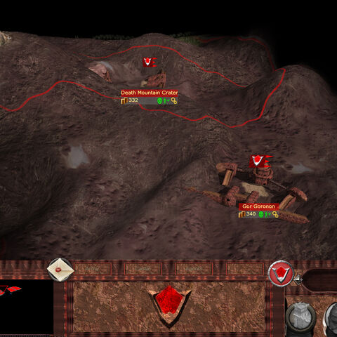 Gor Goronon's appearance on the Campaign map.